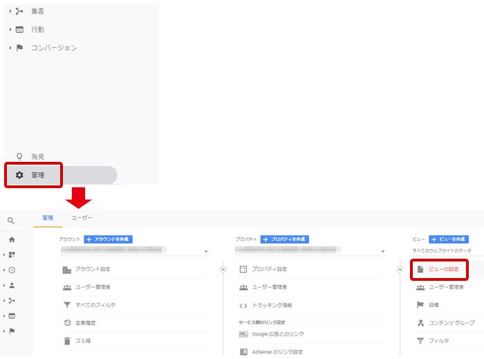 Googleアナリティクス ボットフィルタリング