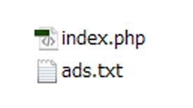 グーグルアドセンスads.txt ファイル